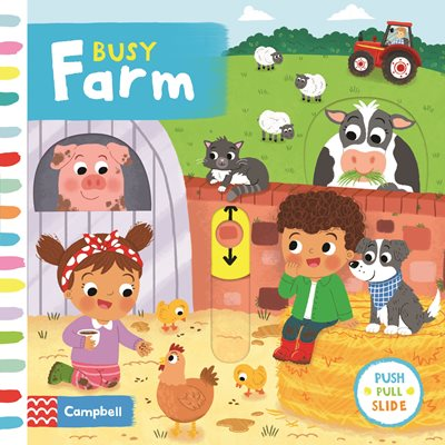 Book cover for Busy Farm